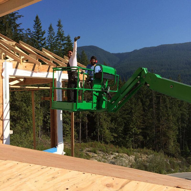 Work Photos SGN Construction Surrey | House Framing Vancouver
